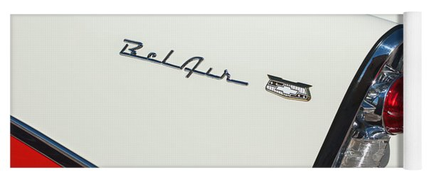 1956 Chevrolet Belair Coupe Taillight Yoga Mat