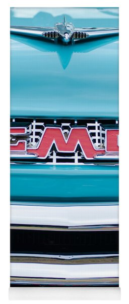 1956 Gmc 100 Deluxe Edition Pickup Truck Yoga Mat