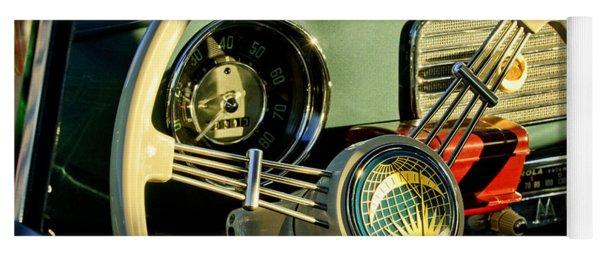 1956 Volkswagen Vw Bug Steering Wheel 2 Yoga Mat