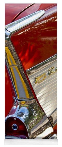 1957 Chevrolet Belair Taillight Yoga Mat