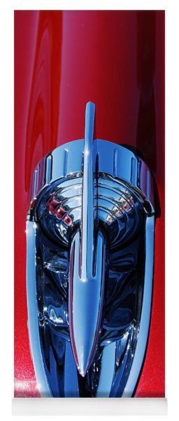 1957 Chevy Belair Hood Rocket Yoga Mat