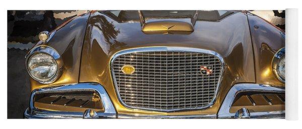 1957 Studebaker Golden Hawk  Yoga Mat