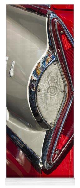 1958 Edsel Wagon Tail Light Yoga Mat