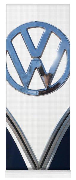 1958 Volkswagen Vw Bus Emblem Yoga Mat