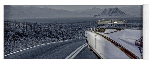 1959 Cadillac Eldorado Cool Night Yoga Mat