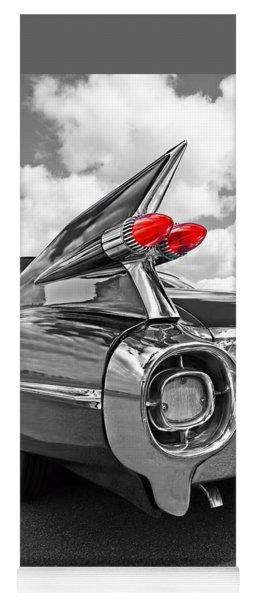 1959 Cadillac Tail Fins Yoga Mat