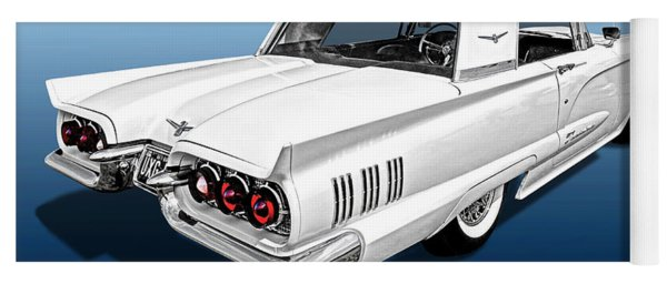 1960 Ford Thunderbird Yoga Mat