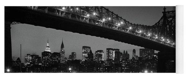 1960s Queensboro Bridge And Manhattan Yoga Mat