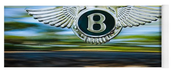 1961 Bentley S2 Continental Emblem Yoga Mat