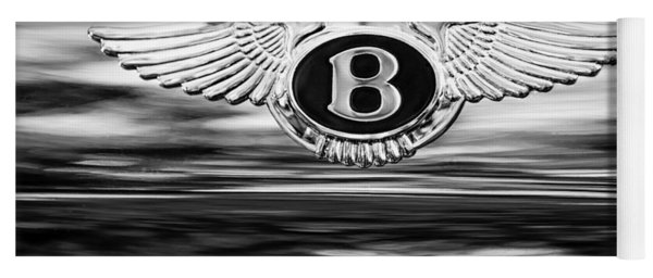 1961 Bentley S2 Continental - Flying Spur ' Emblem Yoga Mat