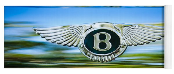 1961 Bentley S2 Continental - Flying Spur - Emblem Yoga Mat