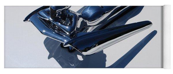 1961 Nash Winged Goddess Metropolitan Coupe Hood Ornament Yoga Mat