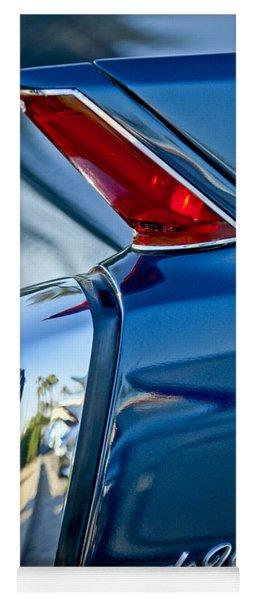 1962 Cadillac Deville Taillight Yoga Mat