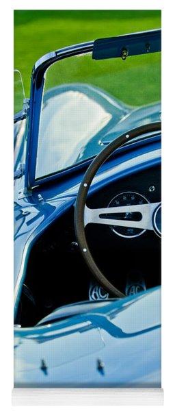 1964 Ac Shelby Cobra 289 Steering Wheel Emblem Yoga Mat