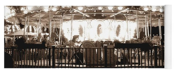 1964 Allan Herschell Carousel Yoga Mat