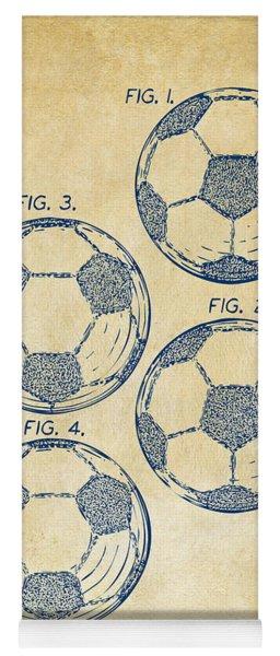 1964 Soccerball Patent Artwork - Vintage Yoga Mat