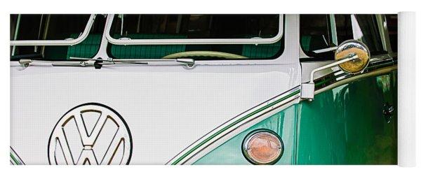 1964 Volkswagen Vw Samba 21 Window Bus Yoga Mat