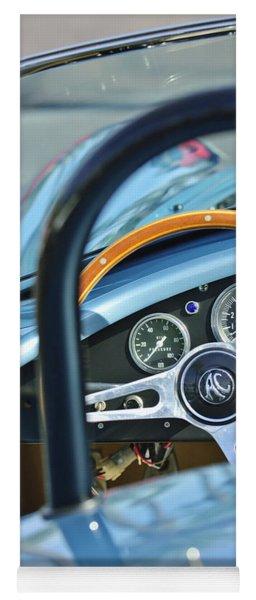 1965 Ac Cobra Steering Wheel 4 Yoga Mat
