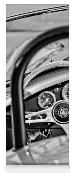 1965 Ac Cobra Steering Wheel Yoga Mat