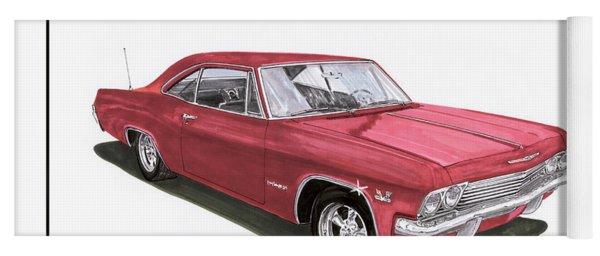 1965 Chevrolet Impala S S 396 Yoga Mat