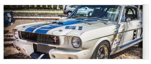 1965 Ford Shelby Mustang  Yoga Mat
