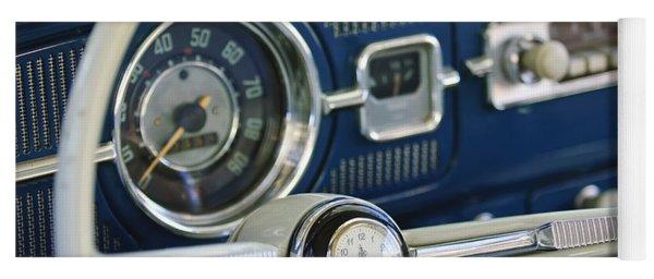 1965 Volkswagen Vw Beetle Steering Wheel Yoga Mat