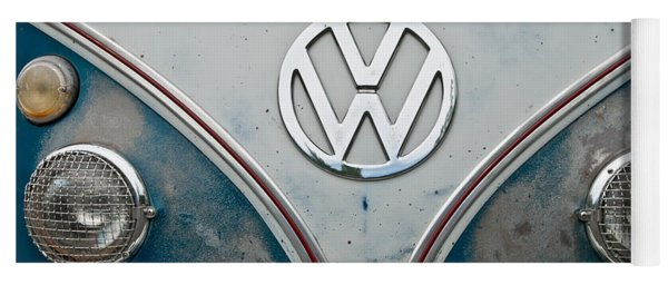 1965 Vw Volkswagen Bus Yoga Mat