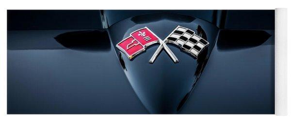 1967 Chevrolet Corvette 427 435 Hp Painted  Yoga Mat