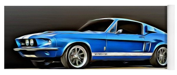 1967 Shelby Mustang Gt500 Yoga Mat