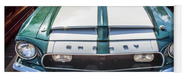 1968 Ford Shelby Mustang Gt350 Yoga Mat