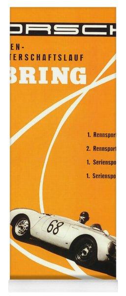 1968 Porsche Sebring Florida Poster Yoga Mat