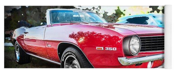 1969 Chevrolet Camaro 350 Convertible   Yoga Mat