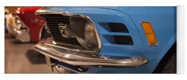 1970 Mustang Mach 1 And Other Classics Hidden In A Garage Yoga Mat