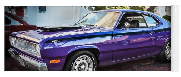 1972 Plymouth 340 Duster  Yoga Mat
