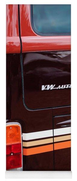 1978 Volkswagen Vw Champagne Edition Bus Taillight Emblem Yoga Mat