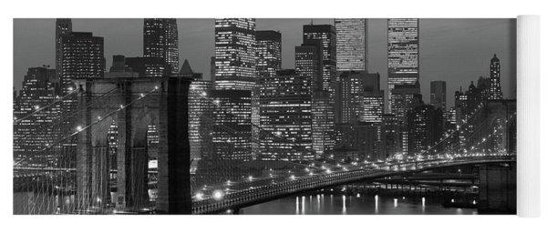 1980s New York City Lower Manhattan Yoga Mat