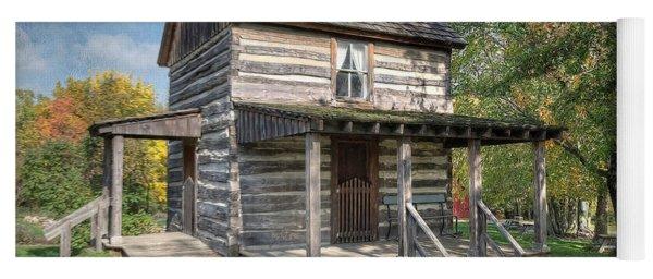19th Century Cabin Yoga Mat