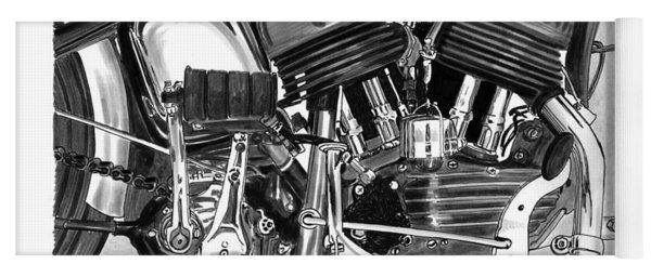 Harley Davidson W L A Yoga Mat