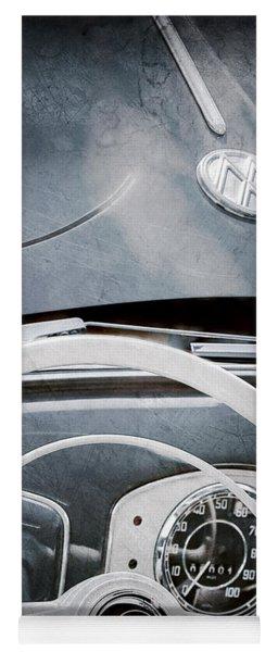 1951 Volkswagen Vw Beetle Cabriolet Steering Wheel Emblem - Hood Emblem Yoga Mat