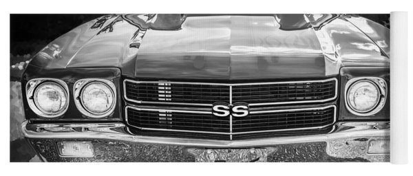 1970 Chevy Chevelle 454 Ss Bw   Yoga Mat