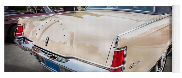1971 Lincoln Continental Mark IIi Painted  Yoga Mat