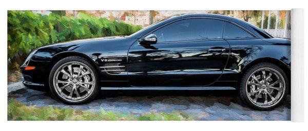 2006 Mercedes Benz Sl55 V8 Kompressor Coupe Painted  Yoga Mat