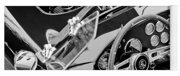 Ac Shelby Cobra Engine - Steering Wheel Yoga Mat