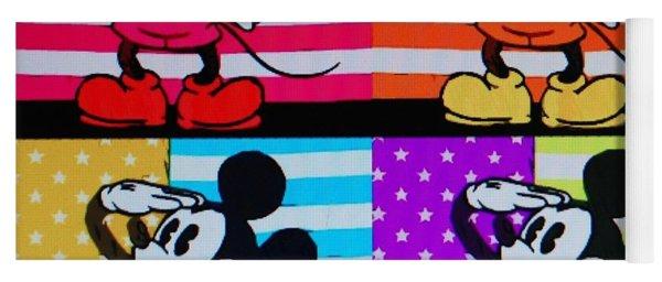 American Mickey Yoga Mat
