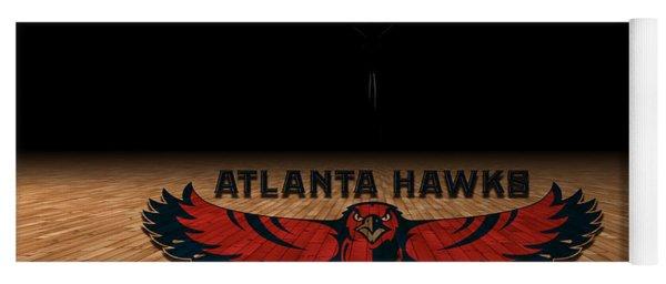 Atlanta Hawks Yoga Mat