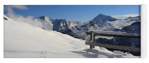 Austrian Mountains Yoga Mat