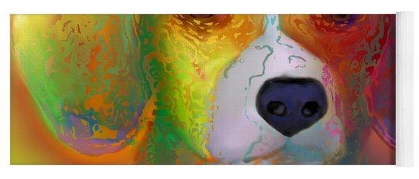 Beagle Yoga Mat