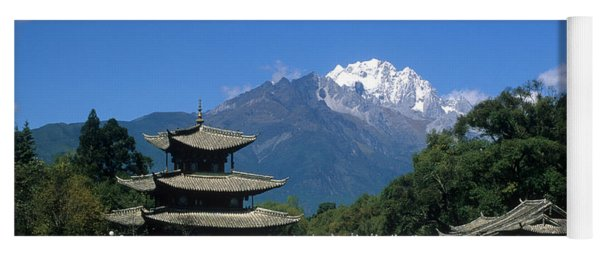 Black Dragon Pool Lijiang China Yoga Mat