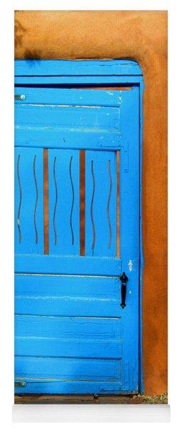 Blue Door In Santa Fe Yoga Mat