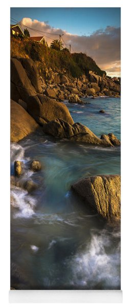 Chanteiro Beach Galicia Spain Yoga Mat